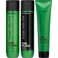Matrix Total Results Curl Please Shampoo (300ml), Conditioner (300ml) och Contouring Lotion (150ml)