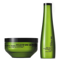 Shu Uemura Art of Hair Silk Bloom Shampoo (300 ml) og Treatment (200ml)
