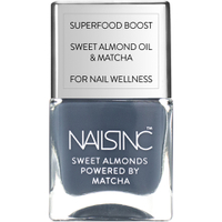 nails inc. Powered by Matcha Gloucester Gardens Sweet Almond Nail Varnish 14ml
