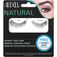 Ardell Natural Lashes 105, Schwarz