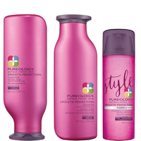 Champú, Acondicionador (250 ml) y Sérum (150 ml) Smooth Perfection de Pureology