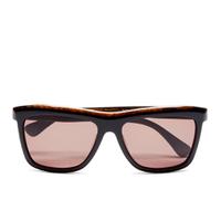 Calvin Klein Womens Platinum Sunglasses (Black Marble)