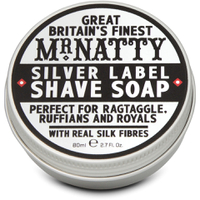 Savon de Rasage Label Argent Mr Natty 80 ml