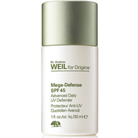 Protecteur Anti-UV Quotidien Avancé SPF 45 Mega-Defense Dr. Andrew Weil for Origins 30 ml