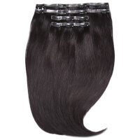 "Extensiones de Pelo Invisi-Clip-In 18"" Jen Atkin de Beauty Works - Negro Natural 1A"