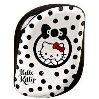 Tangle Teezer便携顺发梳 - 黑白Hello Kitty