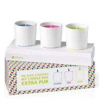 Compagnie de Provence My Candle Box: Mediterranean Sea/Wild Rose/Fresh Verbena Candles 70g