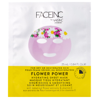 FACEINC by nails inc. Flower Power Hydrating Sheet Mask - Nourishing and Smoothing