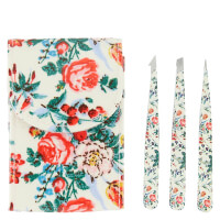 The Vintage Cosmetics Company 3 Piece Tweezer Set