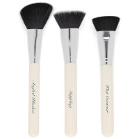 The Vintage Cosmetics Company Contour Face Make-Up Brush Set