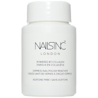 nails inc. Express Nail Polish Remover Pot Powered by Collagen 50ml