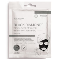 BeautyPro Black Diamond Peel-Off Mask with Activated Charcoal (3 Applications)