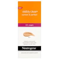 Neutrogena Visibly Clear Correct and Perfect CC Cream - Fair 50ml