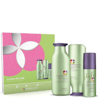 Pureology Clean Volume Gift Set (Worth £60.50)