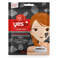 Yes To Tomatoes Detoxifying Charcoal DIY Powder-to-Clay Mask 5g