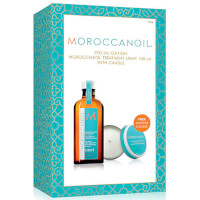 Moroccanoil Treatment Light 100ml with FREE Candle (Worth £42.85)