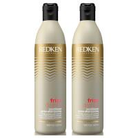 Redken Frizz Dismiss Shampoo Duo (2 x 500ml)