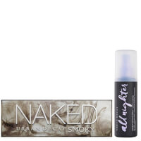 Urban Decay Naked Smoky Palette and Setting Spray Bundle