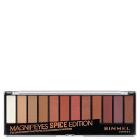 Rimmel Magnif'eyes 12 Pan Shade Palette 14g - Spice