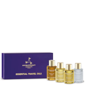 Coffret huiles de bain Aromatherapy Associates Essentials Relax, De-stress & Revive 3x9ml