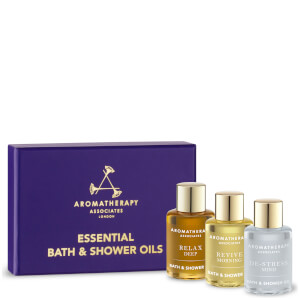Aromatherapy Associates Essentials Relax, De-Stress & Revive (3 X 7.5ml)