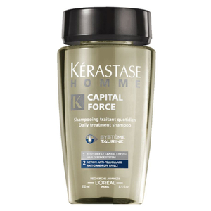 Champú anti-caspa Kérastase Homme Capital Force