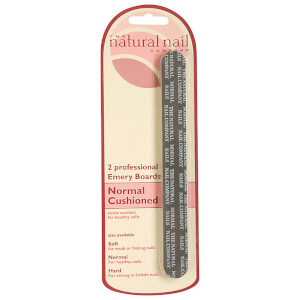 Jessica Professional Emery Boards Cushioned - Normal Nails
