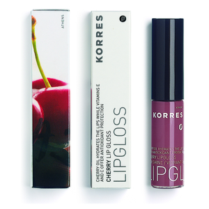Korres Cherry Full Colour Gloss Natural Purple Natural Purple