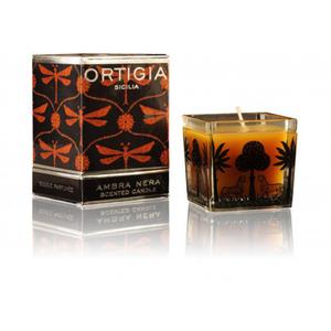 Ortigia Ambra Neraquatratische Kerze