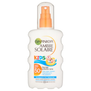 Garnier Ambre Solaire Kids Sun Cream Spray SPF 50+ 200ml