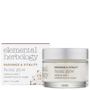 Exfoliante facial?Facial Glow Radiance Peel de Elemental Herbology 50 ml