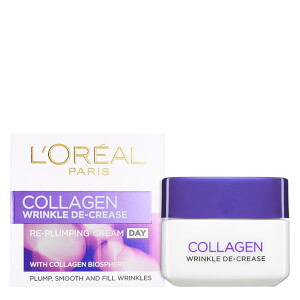Crema de día redensificante Dermo Expertise Wrinkle Decrease Collagen Re-plumper Day Cream de L'Oreal Paris (50 ml)