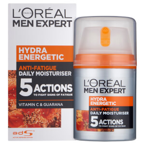 Loción hidratante de L'Oréal Men Expert Hydra?Energetic Daily Anti-Fatigue?(50 ml)