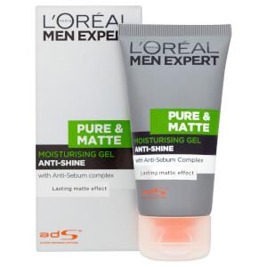 L'Oréal Men Expert Pure & Matte Anti-Shine Moisturising Gel (50ml): Image 2