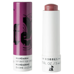 KORRES Natural Mandarin Lip Butter Stick SPF15 - Purple