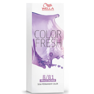 Wella Color Fresh Light Pearl Ash Blonde 8/81 75ml: Image 2