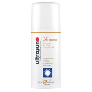 Ultrasun Glimmer Spf20 - Sensitive Formula (150ml)