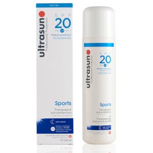 Gel resistente al agua Sports SPF20 de Ultrasun (200 ml)