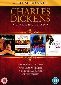 Charles Dickens Verzameling: Great Expectations / Oliver Twist / Nicholas Nickleby / A Christmas Carol