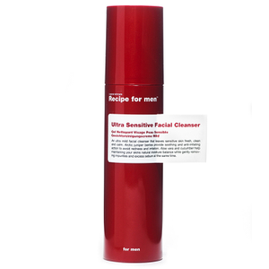 Recipe for Men - Ultra Sensitive Facial Cleanser 100ml