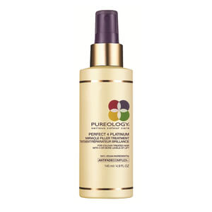 Traitement réparateur brillance cheveux blonds PUREOLOGY PERFECT 4 PLATINUM MIRACLE FILLER TREATMENT (145ML)