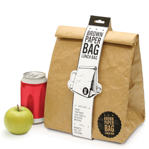 Brown Paper Bag - Insulated Lunch Bag
