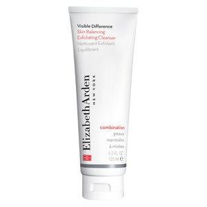Elizabeth Arden Visible Difference Skin Balancing Exfoliating Cleanser -kuoriva puhdistusaine (125ml)