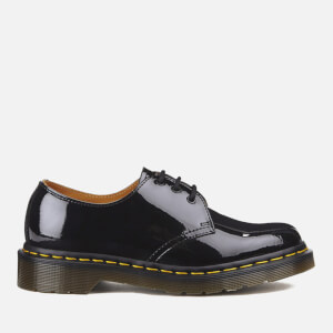 Dr. Martens Women's 1461 Patent Lamper 3-Eye Shoes - Black