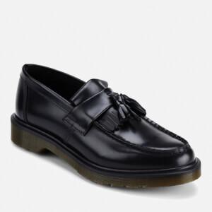 Dr. Martens Men's Adrian Pw Polished Leather Loafers - Black: Image 4