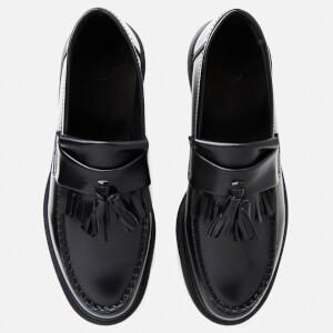 Dr. Martens Men's Adrian Pw Polished Leather Loafers - Black: Image 2