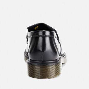 Dr. Martens Men's Adrian Pw Polished Leather Loafers - Black: Image 3