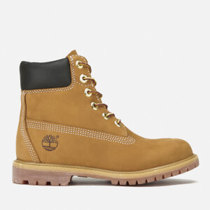 Timberland Women's 6 Inch Nubuck Premium Boots - Wheat