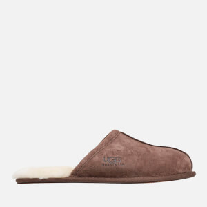 UGG Men's Scuff Suede Sheepskin Slippers - Espresso