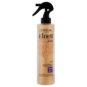L'Oreal Paris Elnett Satin Heat Protect Spray - Straight (170 ml)